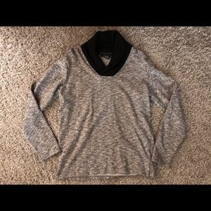 21 Men, Forever 21 Mens Sweater with Knit Collar